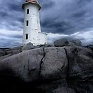 Peggy's Cove lighthouse by sumners