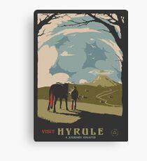Visit Hyrule Canvas Print