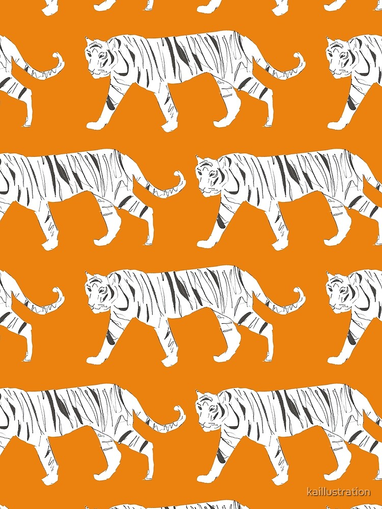 Tiger-Druck von kaillustration