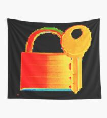 Securitii emoji 5 by RootCat (flashy) Wall Tapestry