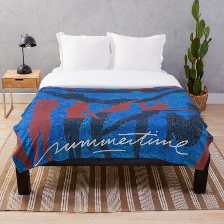 Summertime Throw Blanket