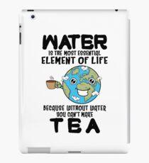 Tea Lover Funny iPad Case/Skin