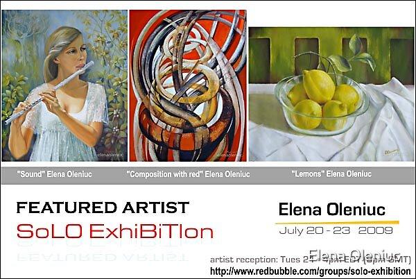 Solo exhibition by Elena Oleniuc