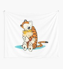 calvin and hobbes Wall Tapestry