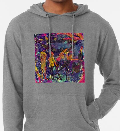 Abstract Summer Pack Lightweight Hoodie