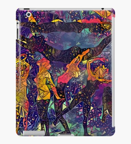 Abstract Summer Pack iPad Case/Skin