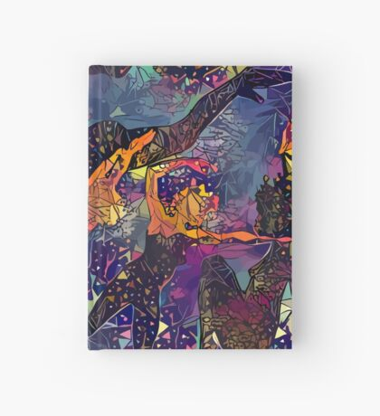 Abstract Summer Pack Hardcover Journal
