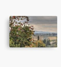 Tuscan Countryside Metal Print