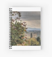 Tuscan Countryside Spiral Notebook