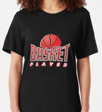 Basketball Player Sports Star Slim Fit T-Shirt