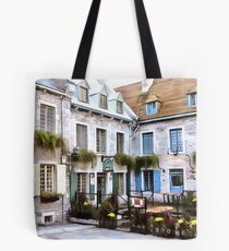 Place Royale - Old Quebec City Tote Bag