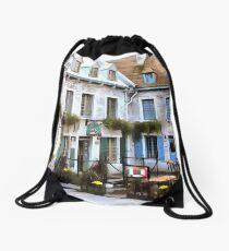 Place Royale - Old Quebec City Drawstring Bag
