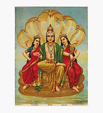 Art : Raja Ravi Varma - Sesha Narayana Photographic Print