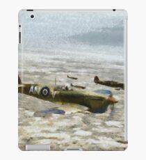 Supermarine Spirfire, WWII, RCAF iPad Case/Skin