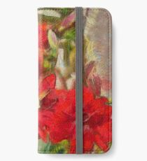 Red Lilies iPhone Wallet/Case/Skin