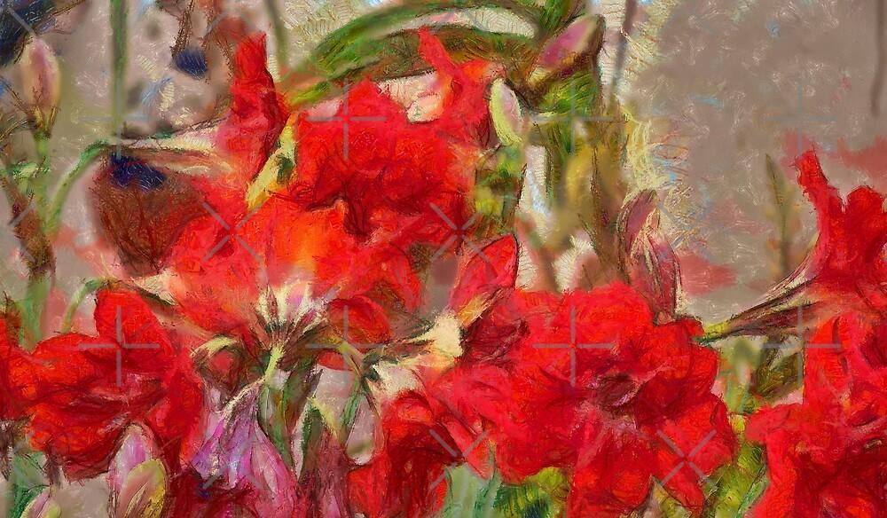 Red Lilies by photorolandi