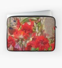 Red Lilies Laptop Sleeve