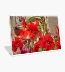 Red Lilies Laptop Skin