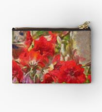 Red Lilies Studio Pouch