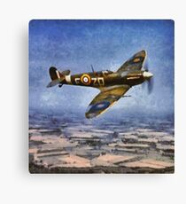 Spitfire, WWII Canvas Print