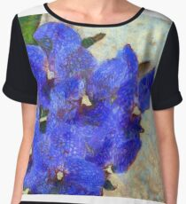 Vandas in Bloom Chiffon Top