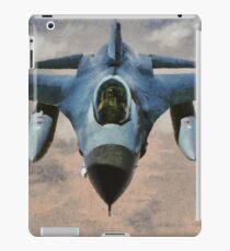 F-16 Falcon Jet Fighter iPad Case/Skin