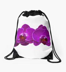 Fuchsia Phalaenopsis Drawstring Bag