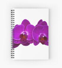 Fuchsia Phalaenopsis Spiral Notebook