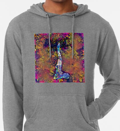 Abstract Feels Like Summer Lightweight Hoodie
