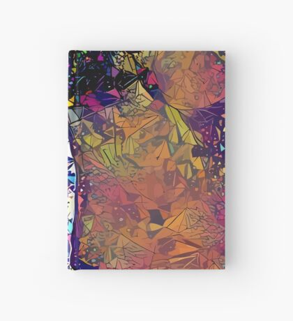 Abstract Feels Like Summer Hardcover Journal