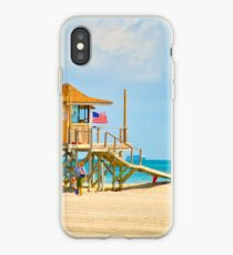 Mother and Daughter at the Beach iPhone Case