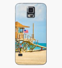 Mother and Daughter at the Beach Case/Skin for Samsung Galaxy