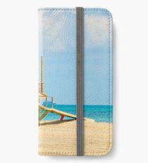 Mother and Daughter at the Beach iPhone Wallet/Case/Skin