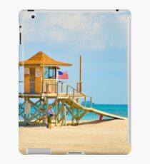 Mother and Daughter at the Beach iPad Case/Skin