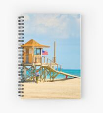 Mother and Daughter at the Beach Spiral Notebook