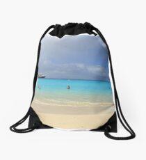 Half Moon Cay Drawstring Bag