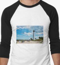 Lighthouse Beach Men's Baseball ¾ T-Shirt