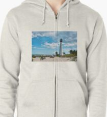 Lighthouse Beach Zipped Hoodie