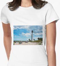 Lighthouse Beach Women's Fitted T-Shirt