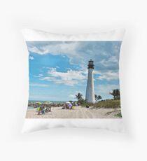 Lighthouse Beach Floor Pillow
