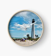 Lighthouse Beach Clock