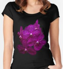 Orchids #9 Women's Fitted Scoop T-Shirt