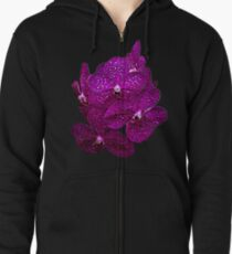 Orchids #9 Zipped Hoodie