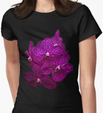 Orchids #9 Women's Fitted T-Shirt