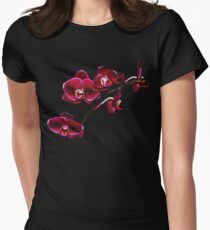 Orchids #8 Women's Fitted T-Shirt