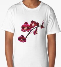 Orchids #8 Long T-Shirt