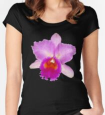 Orchid #7 Women's Fitted Scoop T-Shirt