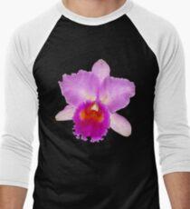 Orchid #7 Men's Baseball ¾ T-Shirt