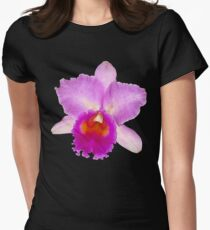 Orchid #7 Women's Fitted T-Shirt