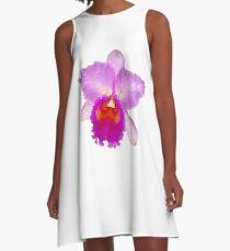 Orchid #7 A-Line Dress